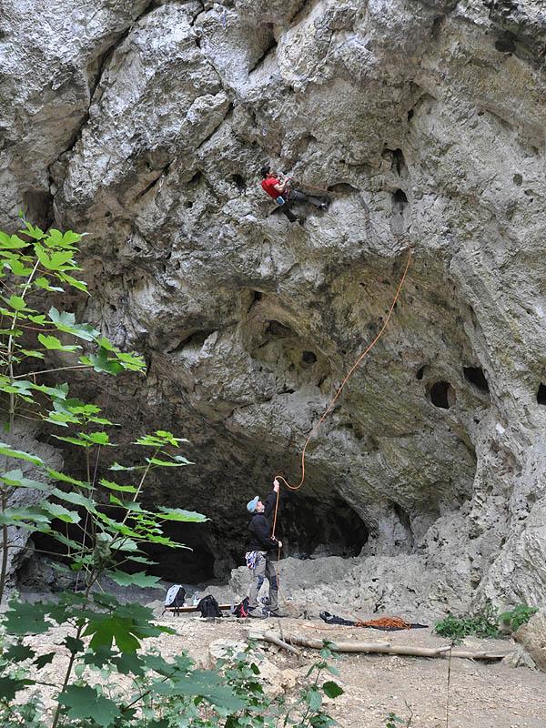 Klettern Auf Der Schw 228 Bischen Alb Donautal Blautal Ostalb
